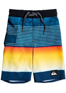 Quiksilver Toddler & Little Boys Highline Slab Swim Trunks