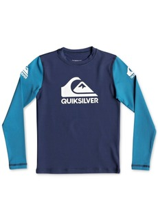 Quiksilver Toddler Boys Heats On Graphic Rash Guard