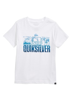 Quiksilver Triple Up Graphic T-Shirt (Toddler Boys & Little Boys)