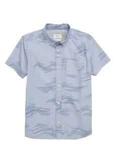 Quiksilver Valley Groove Woven Shirt (Big Boys)