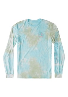 Quiksilver Volume Up Tie Dye Long Sleeve Men's Graphic Tee