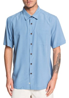 Quiksilver Waterman Collection Cane Island Regular Fit Camp Shirt