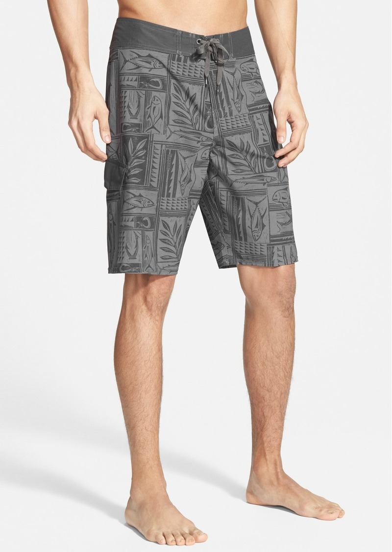 Quiksilver quiksilver waterman collection 39 fish hook for Fishing board shorts