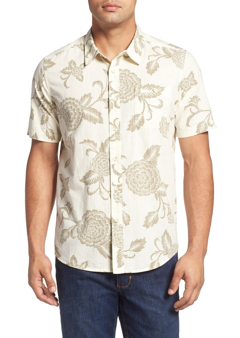 Quiksilver Waterman Collection 'Happy Hour' Print Short Sleeves