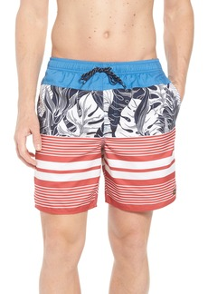 Quiksilver Waterman Collection Jungle Thinking Volley Swim Trunks