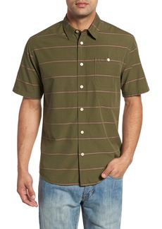 Quiksilver Waterman Collection Last Dawn Regular Fit Stripe Sport Shirt
