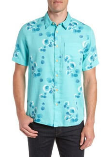 Quiksilver Waterman Collection Plumes Dune Regular Fit Sport Shirt