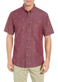 Quiksilver Waterman Collection Regular Fit Geo Sport Shirt
