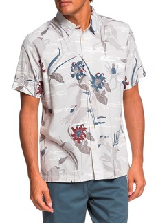 Quiksilver Waterman Collection Same Road Regular Fit Camp Shirt