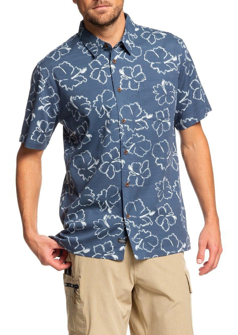 Quiksilver Waterman Collection Seasick Hilo Regular Fit Shirt