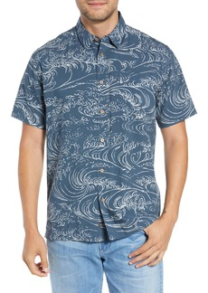 Quiksilver Waterman Collection Wind & Waves Regular Fit Sport Shirt