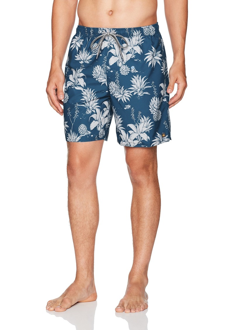 bee777779d8bf Quiksilver Quiksilver Waterman Men's Agavy Volley Swim Trunk XL ...