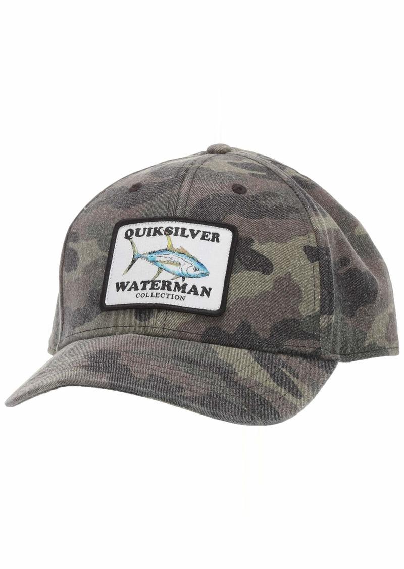Quiksilver Waterman Men's Albatross Snapback HAT camo 1SZ