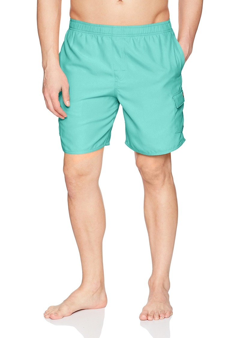 Quiksilver Waterman mens Balance Jam Volley Swim Trunk BLUE RADIANCE S