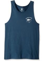 Quiksilver Waterman Men's Big Eye Tank Tee Shirt  S