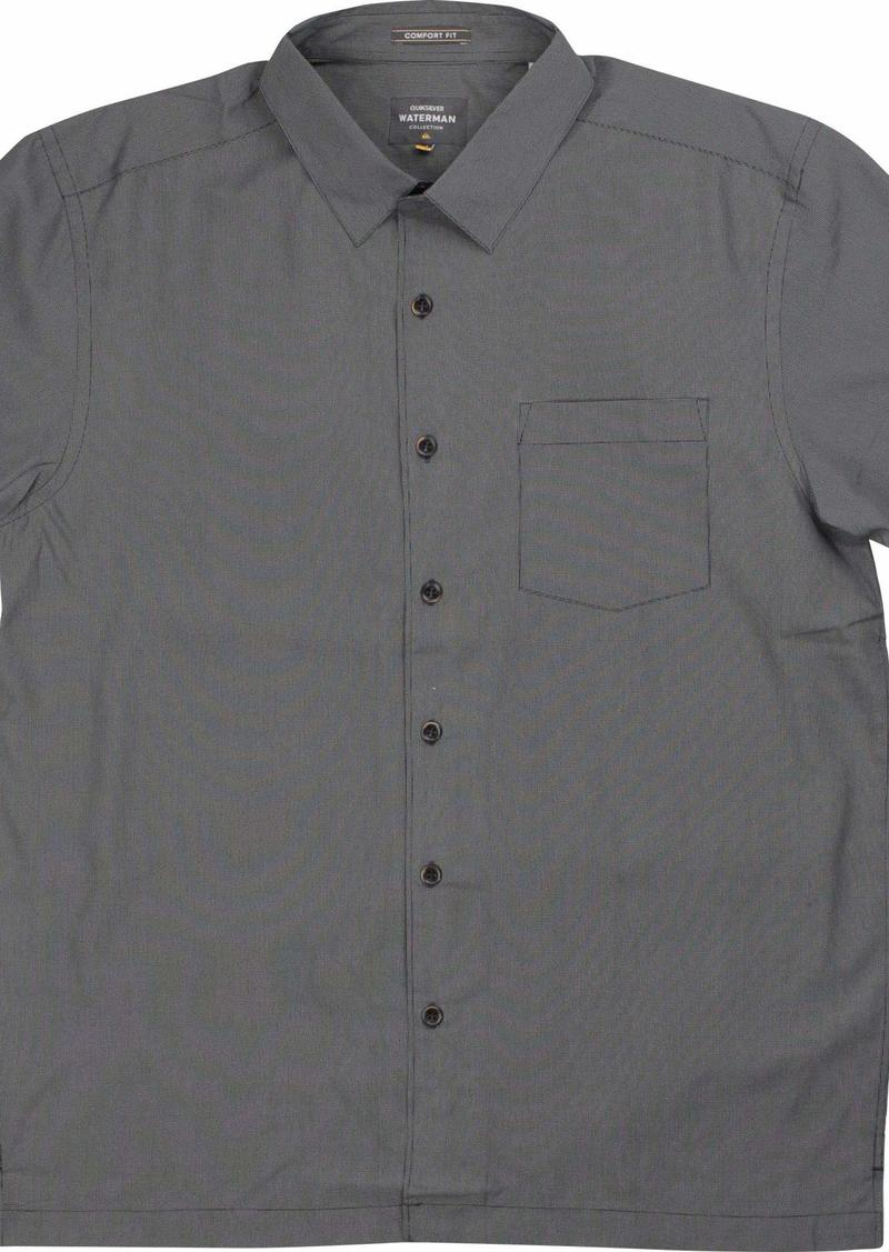 Quiksilver Waterman Men's Cane Island Button Down Shirt  L