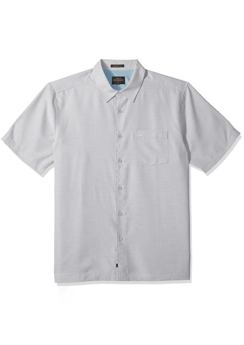 Quiksilver Waterman Men's Centinela 4 Button Down Shirt high Rise S
