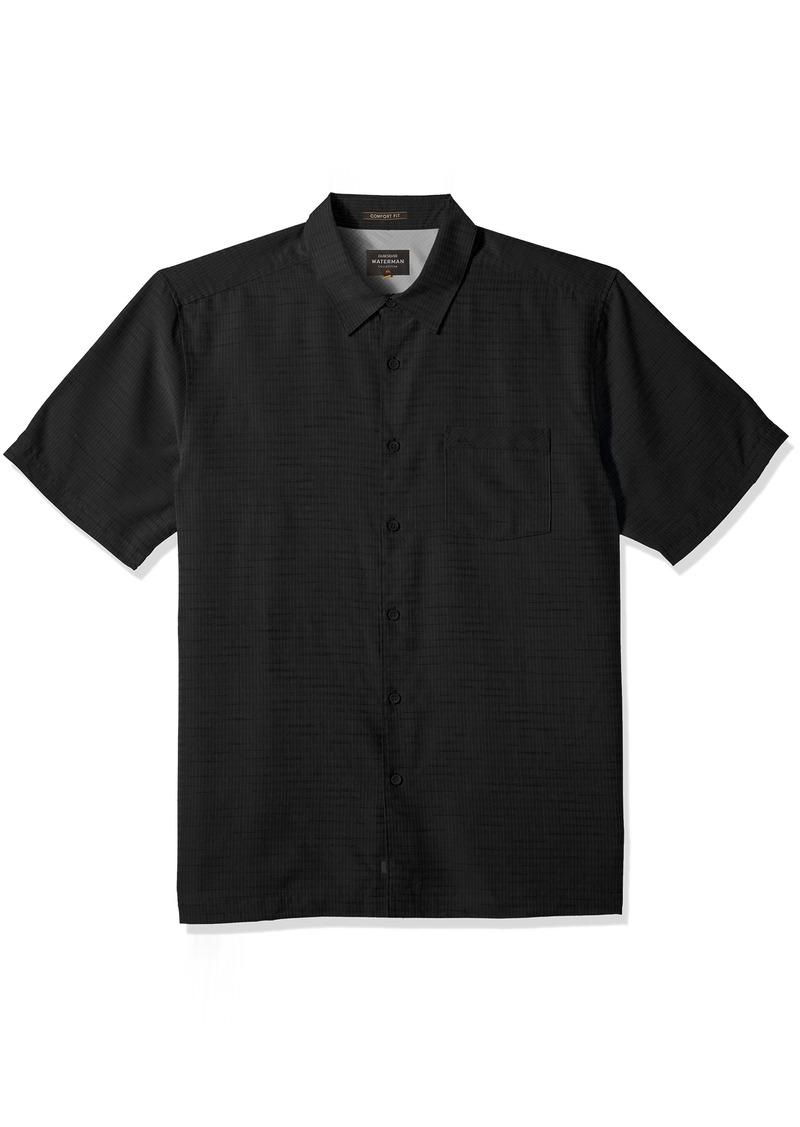 Quiksilver Waterman Men's Centinela 4 Button Down Shirt  L