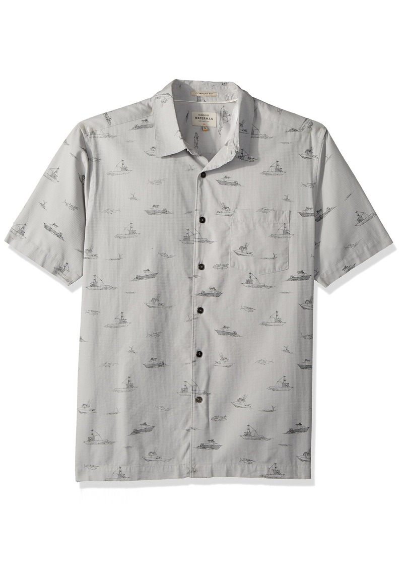 Quiksilver Waterman Men's Channel Cruising Woven Top  S