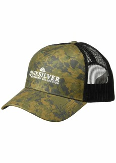 Quiksilver Waterman Men's Cranden Cap Trucker Snap Back camo 1SZ