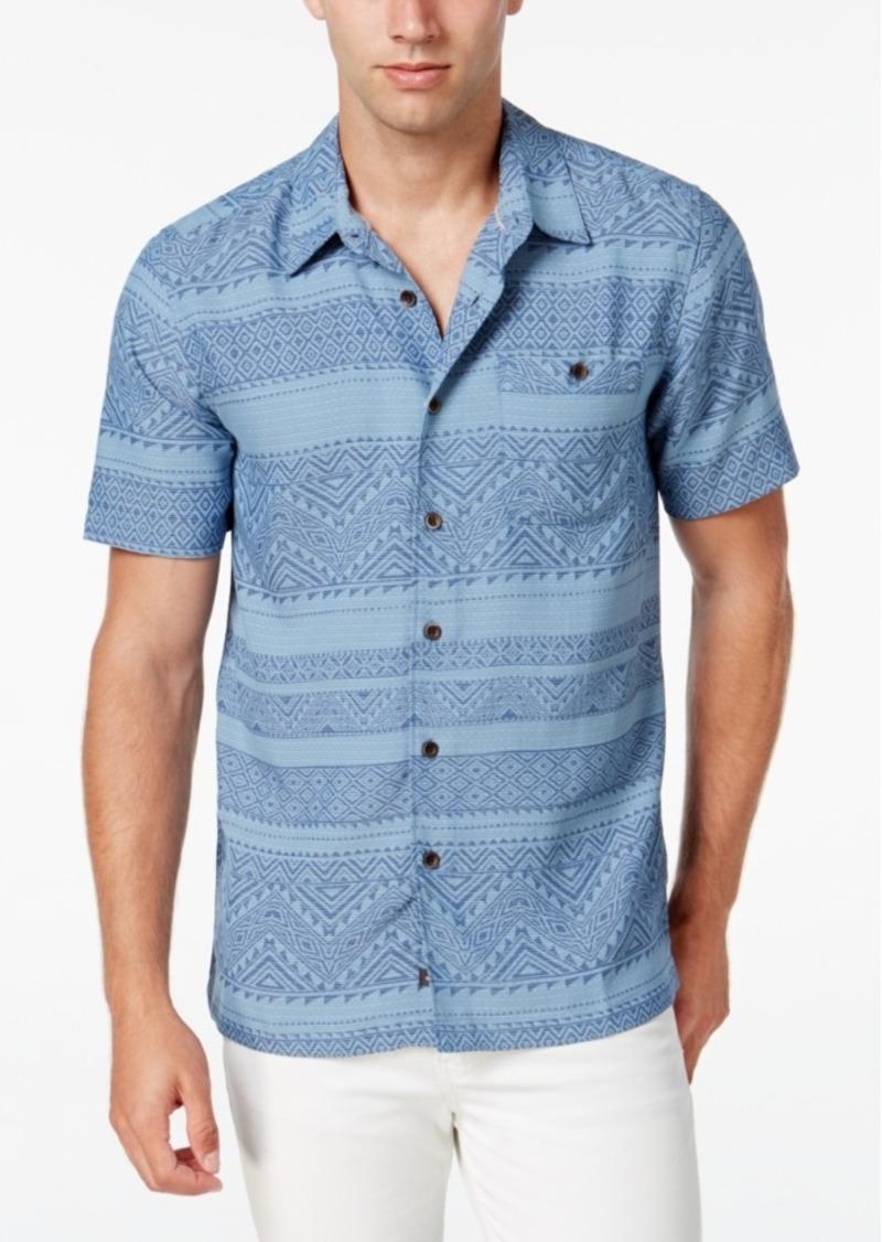 Quiksilver Waterman Men's El Prado Short-Sleeve Shirt