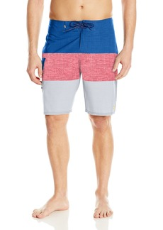 Quiksilver Waterman Men's Fairway Tri Block Boardshort