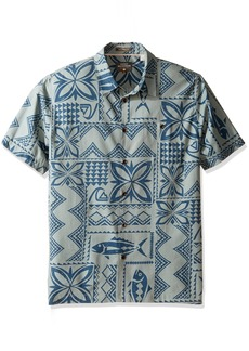Quiksilver Waterman Men's Fish Guru Woven Top