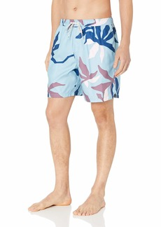 Quiksilver Waterman Men's Gully Floral 18 Volley Swim Trunk  XXL