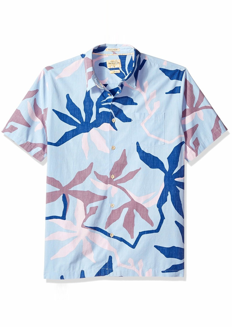 Quiksilver Waterman Men's Gully Floral Button Down Shirt  XL