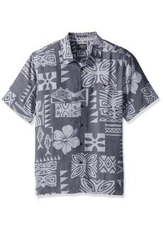 Quiksilver Waterman Men's Inktapa Button Down Shirt  XL