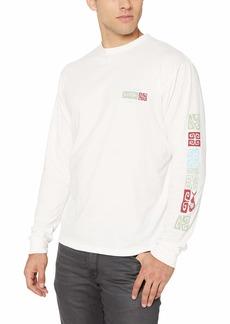 Quiksilver Waterman Men's Kumano Shrines Ls Long Sleeve Shirt  M