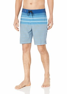 Quiksilver Waterman Men's Liberty Stripe Beachshort 19 Boardshort Swim Trunk