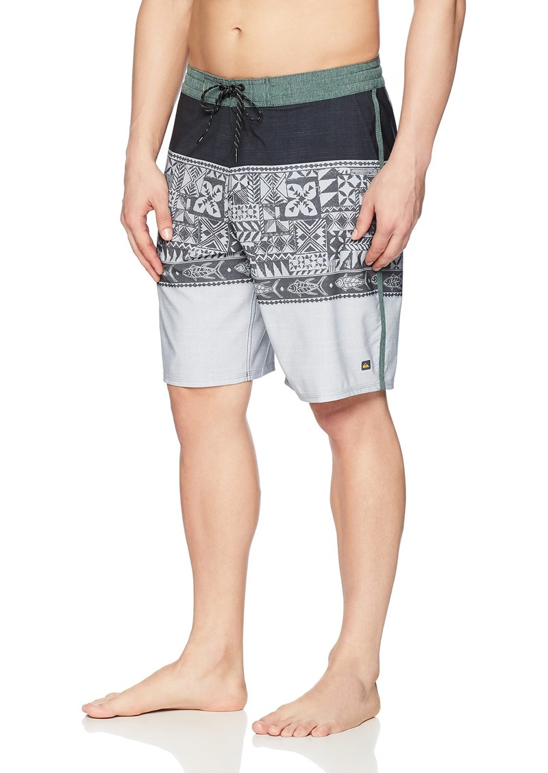 Quiksilver Waterman Men's Liberty Triblock Boardshort Swim Trunk