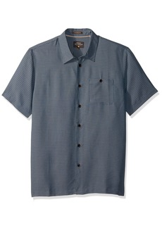 Quiksilver Waterman Men's Marlin Tailored Fit Button Down Casual Shirt  S