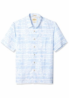Quiksilver Waterman Men's Morea Myth Button Down Shirt White XL