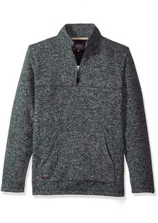 Quiksilver Waterman Men's Mormont TRE Fleece Zip Sweatshirt Top  M