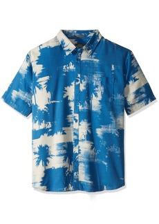 Quiksilver Waterman Men's Paokalani Palms Shirt deep Water XL