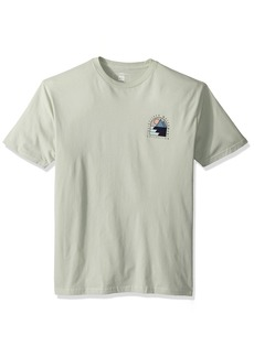 Quiksilver Waterman Men's Paradise Window Tee SEA Foam L