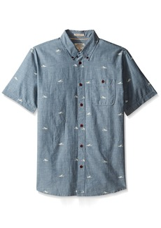 Quiksilver Waterman Men's Post Surf Woven Top