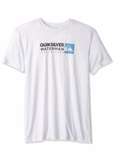 Quiksilver Waterman Men's Return to Forever Screen Tee  M