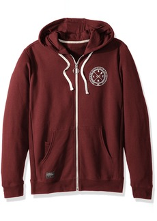 Quiksilver Waterman Men's Ring The Bell Zip Hoody Sweatshirt  S