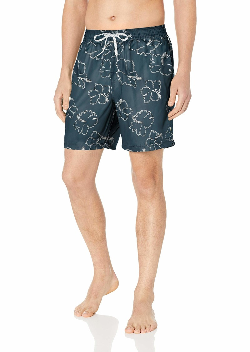 Quiksilver Waterman Men's Seasick Hilo 18 Volley Swim Trunk  M