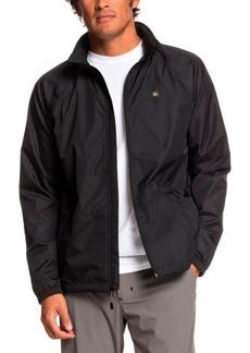 Quiksilver Men's Waterman Shell Shock Water-repellent Windbreaker Jacket