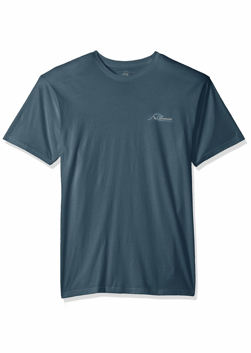 Quiksilver Waterman Men's South Swell Screen Tee  M