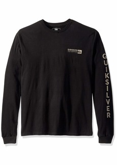 Quiksilver Waterman Men's Staple Sandwich Long Sleeve TEE  XL