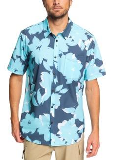 Quiksilver Waterman Men's Tech Floral Woven Shirt