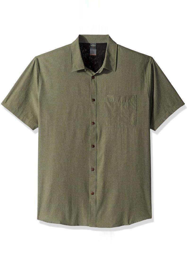 Quiksilver Waterman Men's Tech Tides Button Down Shirt  XXL