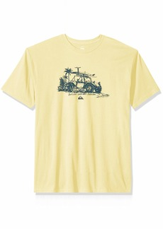 Quiksilver Waterman Men's Traveller Screen Tee  L