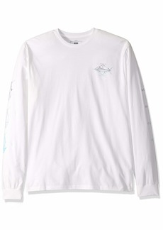 Quiksilver Waterman Men's Tuvalu Long Sleeve TEE Shirt  M