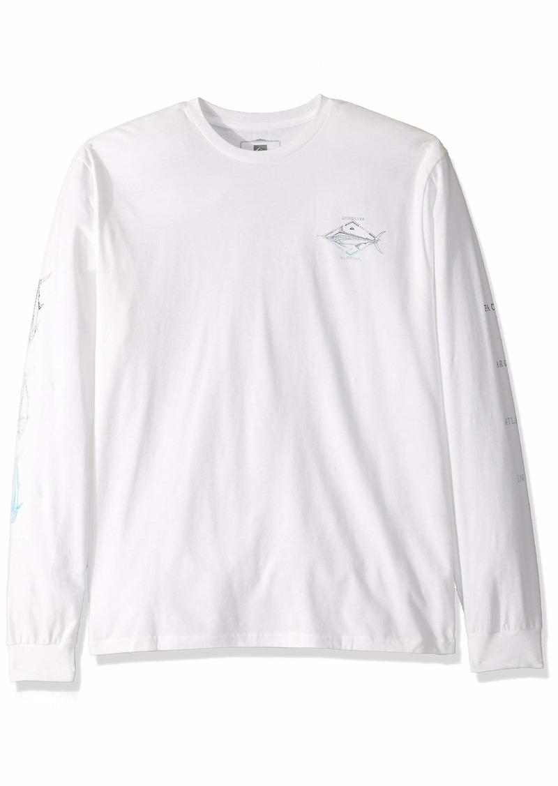Quiksilver Waterman Men's Tuvalu Long Sleeve TEE Shirt  M